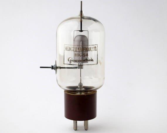 tantalum plate transmitting tube H K Gammatron Heinz /& Kaufman HK-54 vacuum tube