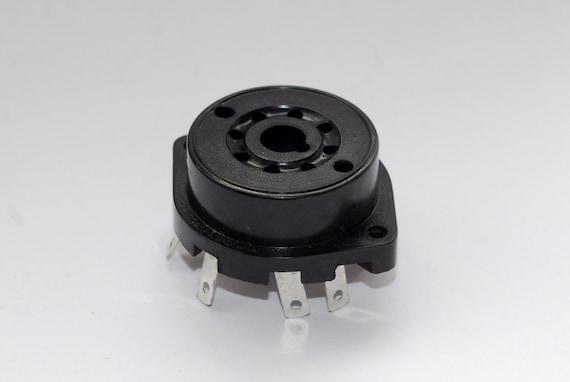 prototype tube socket for DIY experimenting 8-pin loctal breadboard