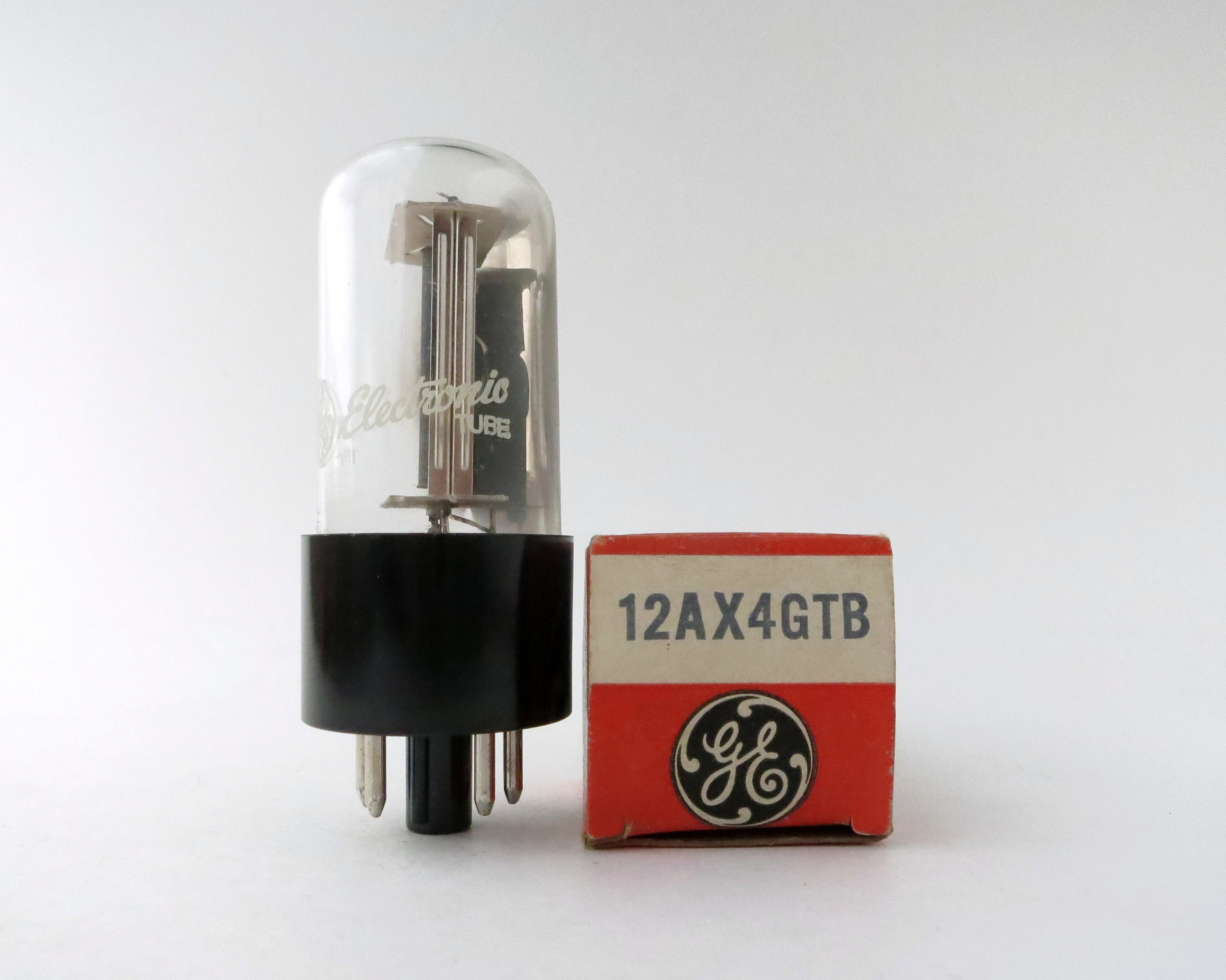 Ge 12ax4gtb Vacuum Tube New Old Stock Original Boxes Etsy Diodes Zoom