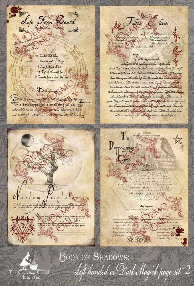 Echte hexen zaubersprüche