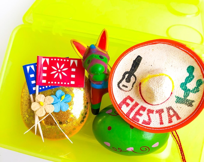 Fiesta Play Dough Kit | Fiesta Playdough Kit | Sensory Kit | Open Ended Toy