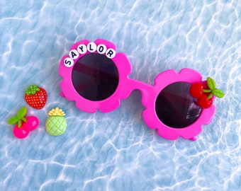 Personalized Sunglasses | Kids Daisy Sunglasses | Customized Sun Glasses | Custom Sunnies | Daisy Glasses | Kids Sunglasses | Name Sunglass