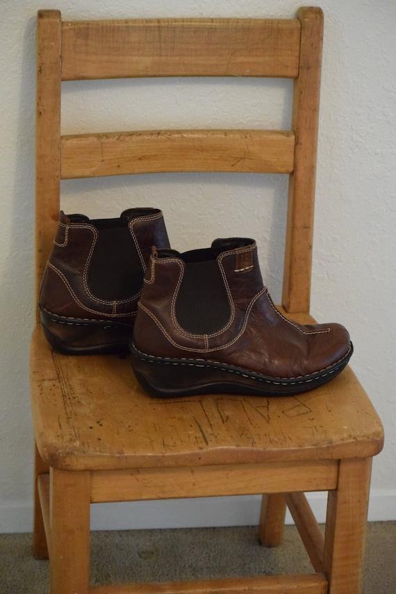 Dark Brown Leather 'Josef Seibel' / The