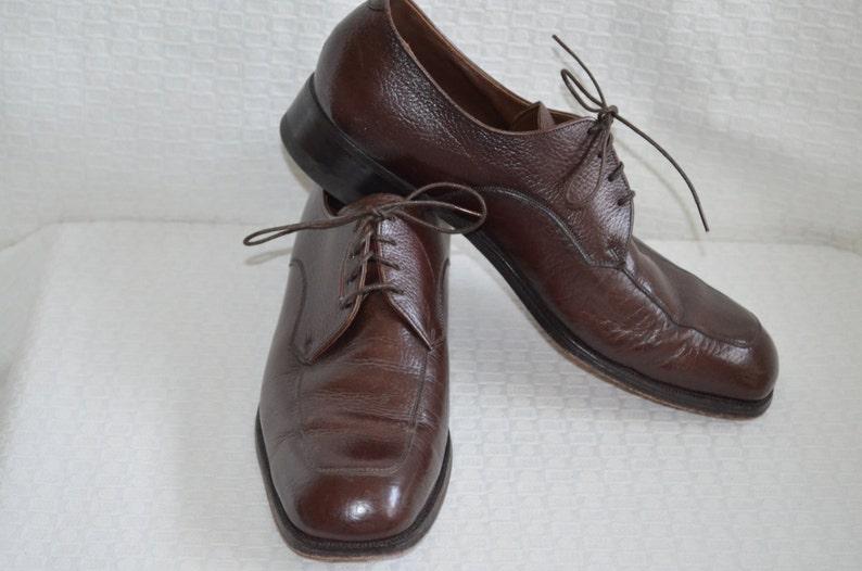cf25ae209952d Classic Brown Leather Lace Up 'Florsheim' Oxfords - Men's 10 1/2