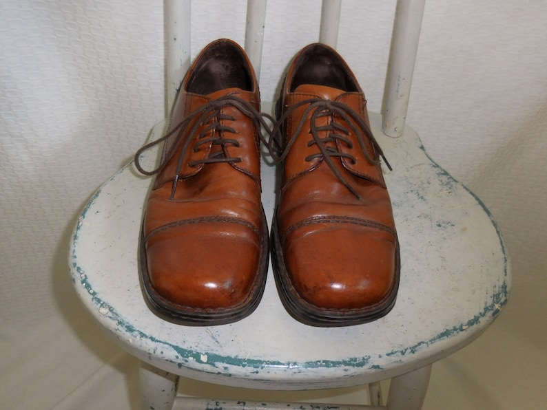 f5d8f720c5fe Men s Square Toe Lace Up Leather Oxford  Born