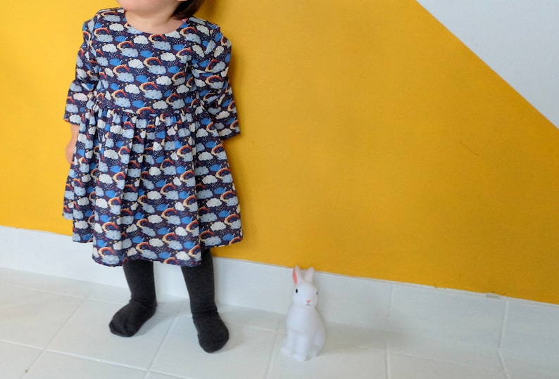 Kimono baby kid  top  t-shirt  japanese style  little image 0