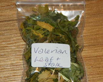 VALERIAN Leaf and Stalk - Home Grown - Loose Magical & Healing Herb - Purification - Protection - Love - Spells and Incense – Magic - Wicca