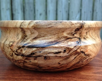Spalted Maple Candy Dish, Candy Bowl, Small Bowl. Wooden Bowl, Spalted Bowl