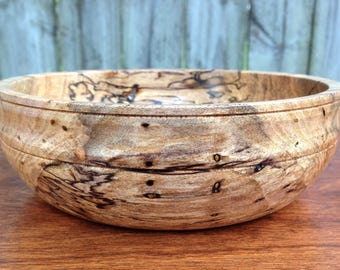 Spalted Maple Candy Bowl, Maple Candy Bowl, Wooden Bowl, Small Bowl