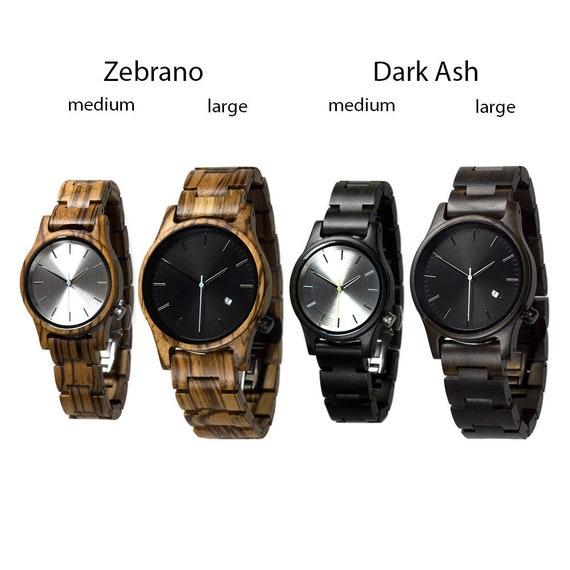 wooden watch personalized watch wood watch women watches etsy