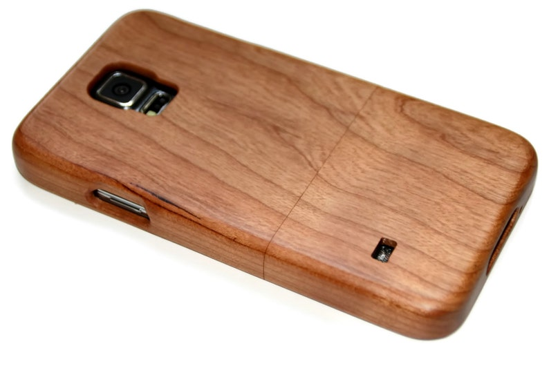 separation shoes 2c7dd 5afb8 Wood case for Samsung Galaxy S5 - wooden S5 case walnut / cherry or bamboo  wood