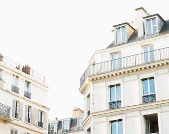 Paris Photography Print - Paris Architecture Photography - Paris Wall Art - Neutral Photography Print