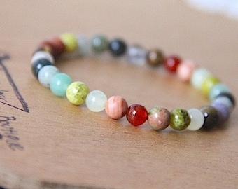 1 Chakra Bracelet Healing Crystal Natural Stone Yoga Jewelry healing jewelry healing crystals chakra
