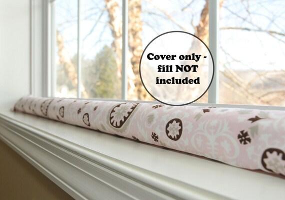 Extra Long Or Short Door Draft Stopper Cover Custom Length Etsy