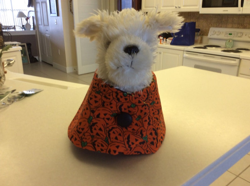 Halloween Cape for your Pet reversible cape for small to medium dog