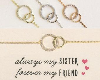 sister bracelets for 2