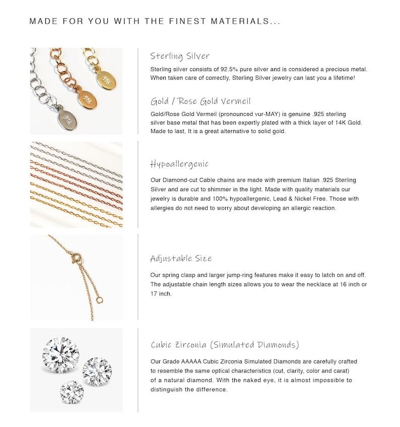 N283-G-13,Graduation Gifts Baguette Necklace Friend Gift Gifts for Friends Best Friend Necklace