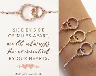Best Friend Gifts, Friendship Bracelet, Gifts for Friends, Long Distance Friendship, B310-28,Graduation Gifts