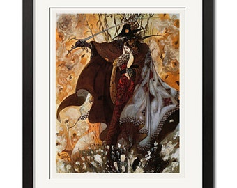 Vampire Hunter D x Yoshitaka Amano gothique Poster Print 0712, used for sale  Delivered anywhere in Canada
