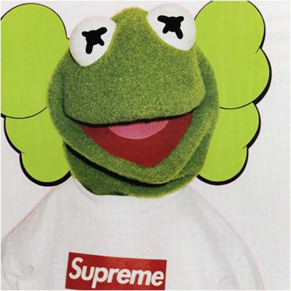 Supreme x Kermit Urban Street Graffiti 22x28 Poster Print