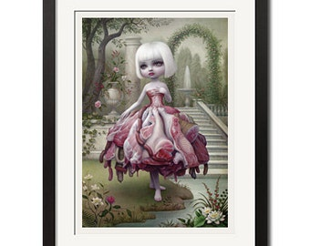 Incarnation Gothic Surreal Poster Print