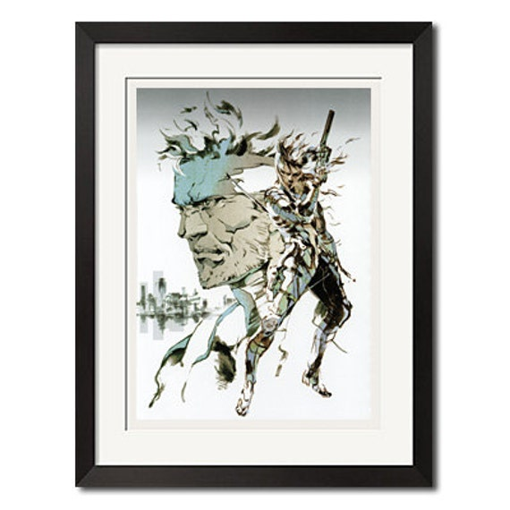 METAL GEAR SOLID SNAKE VIDEO GAME NEW  ART PRINT POSTER # 29 A3//A4 Size