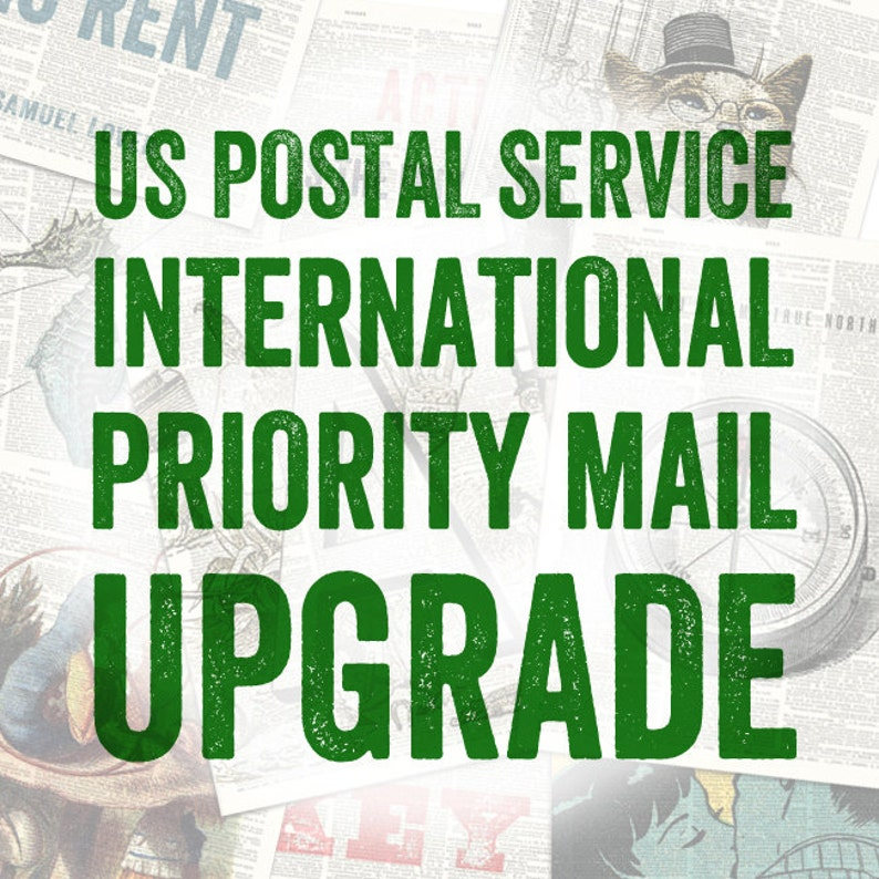 USPS International Priority Mail Upgrade  Insured and image 0