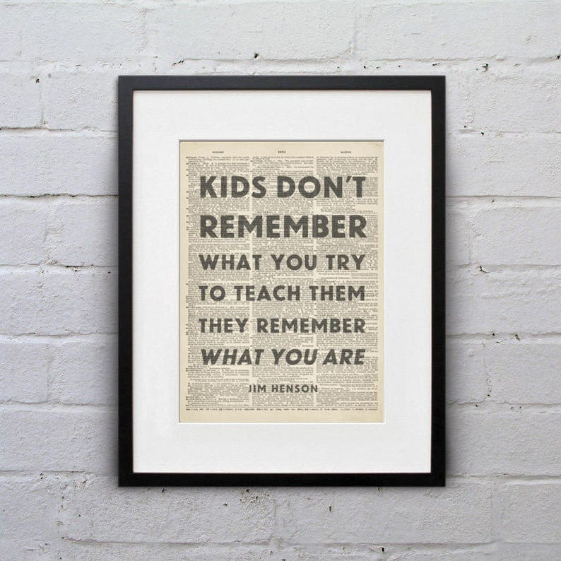 Kids Don't Remember What You Try To Teach Them They image 0