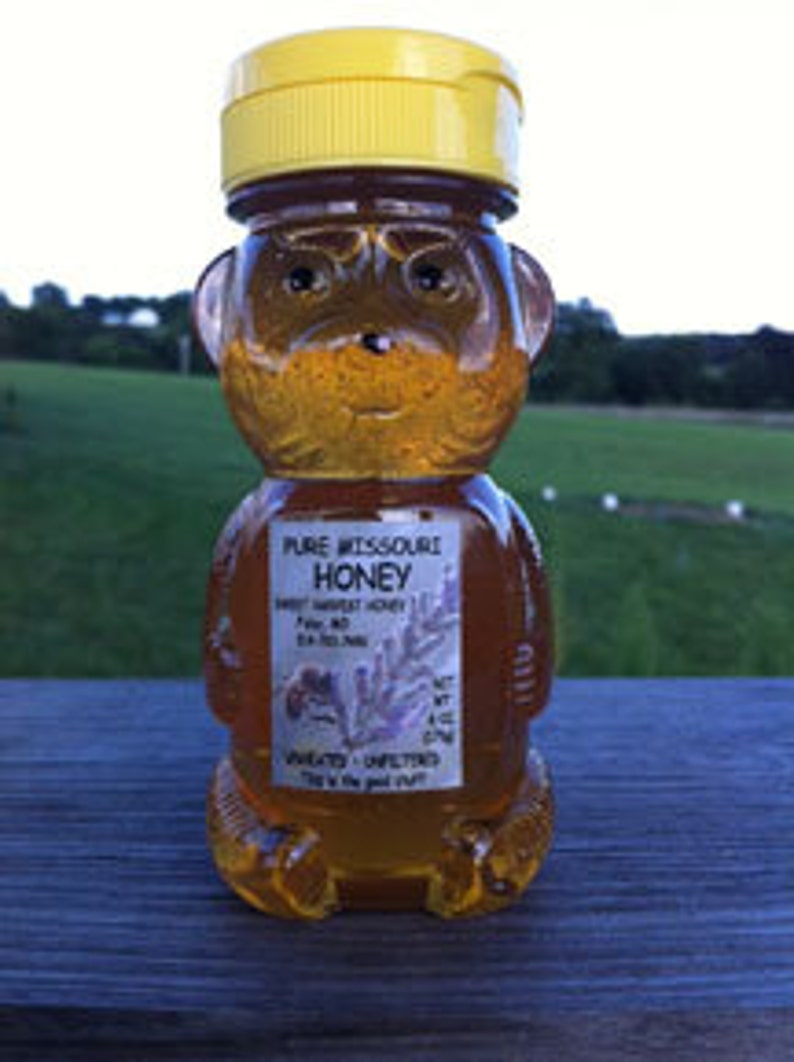 Pure Honey 6 oz squeeze bottle image 0