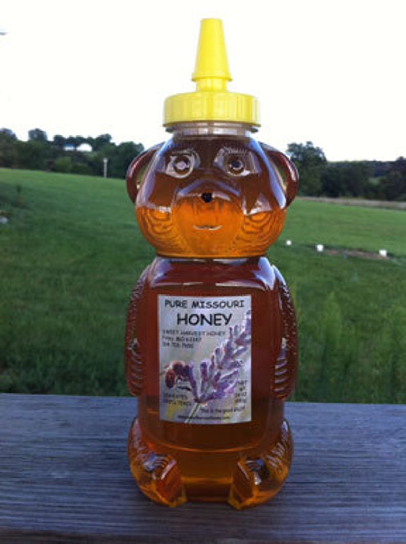 Pure Honey 24 oz squeeze bottle image 0