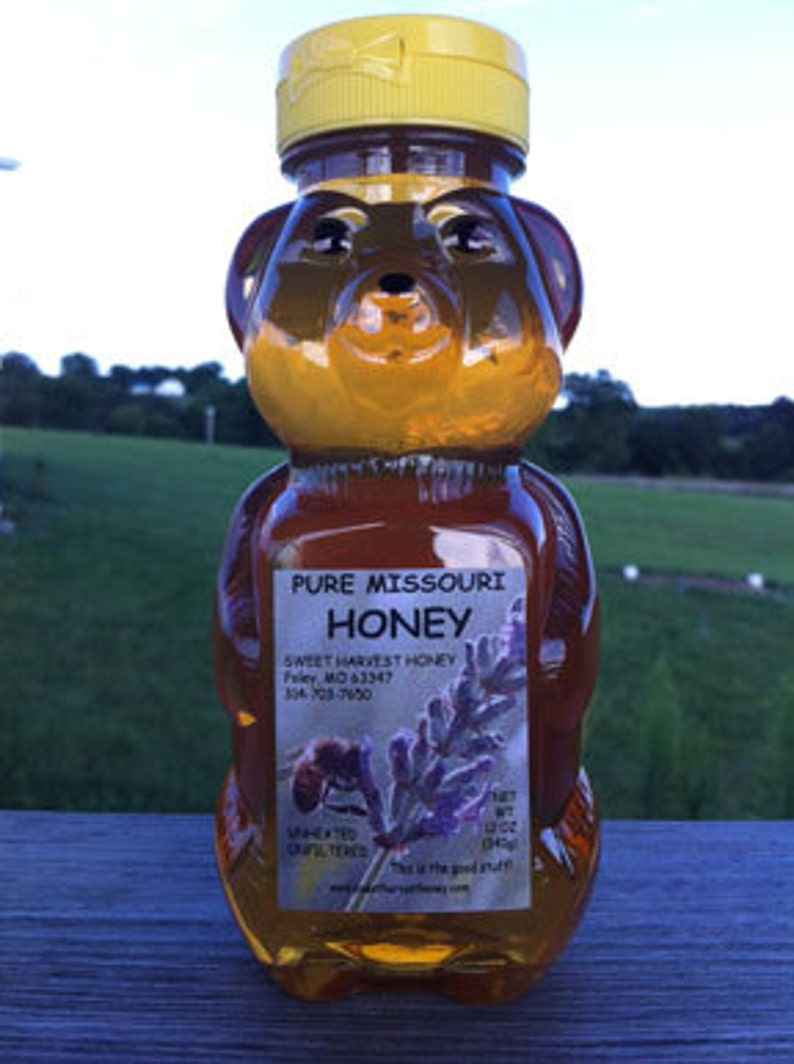 Pure Honey 12 oz squeeze bottle image 0