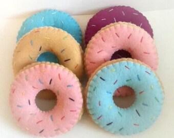 Roze donut kussen etsy