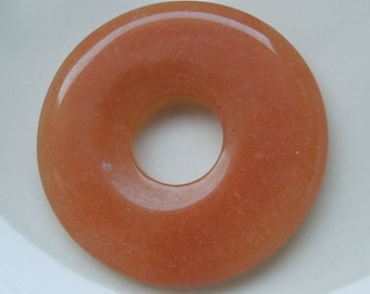 red aventurine donut 40mm