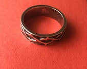 James Avery Sterling Silver Crown of Thorns Ring Size 9 Retired