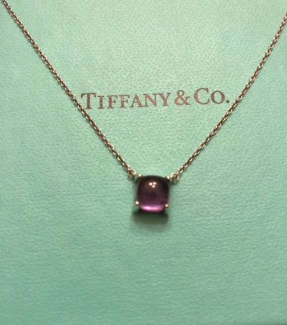 87e9173f20073 Tiffany & Co. Paloma Picasso Sugar Stack Amethyst Necklace Authentic Super  Rare Layaway Available