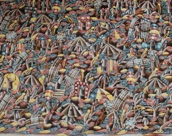 Haitian painting by Bon Dieu