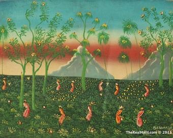 Haitian Painting  By Belgarde