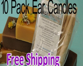 10 Pack Ear Candles