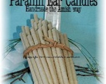 Pack of 10 Premium Paraffin Ear Candles