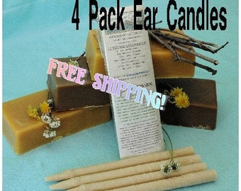 4 pack Ear Candles Free Shipping