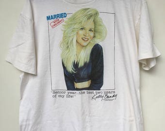 Vintage 1980s Married with Children / Kelly Bundy / Size L