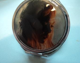 Sleeping Beauty Maleficent movie compact mirror