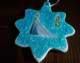 FROZEN ornament 2 sided