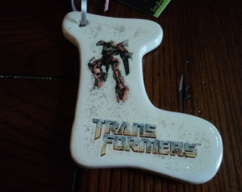 Transformers ornament 2 sided