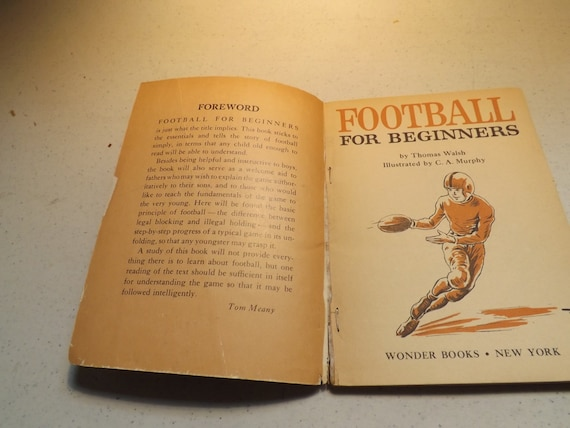 Football For Beginners Book