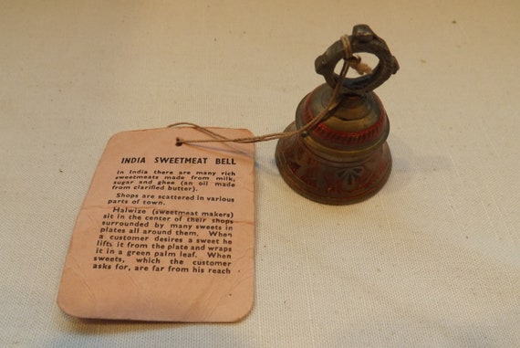 india sweetmeat bell brass bells of sarna etsy etsy