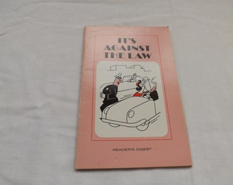 Readers Digest Funny Book It's Against the Law
