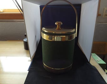 Large Green Bar Ice Bucket Container