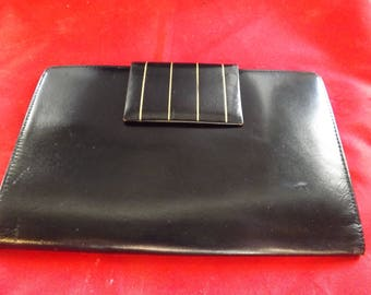 Genuine Cowhide Leather Passport Wallet West Germany