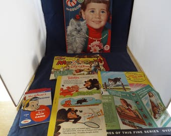 Lot of Children Vintage Epherma, Toys and More